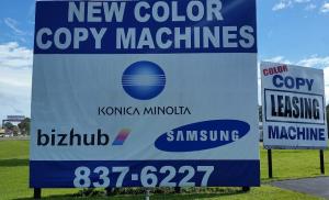 photo: Copyfax sign