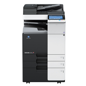 photo: Konica Minolta bizhub prineter / copier