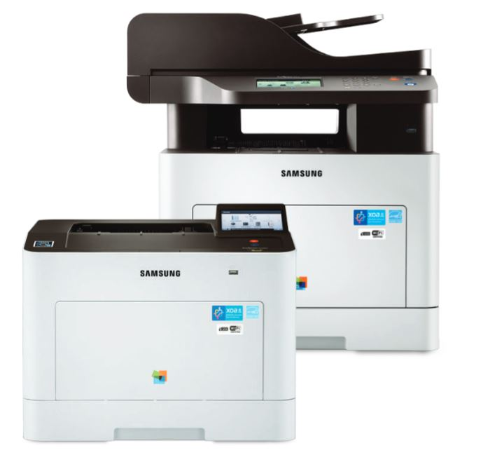 photo: Samsung Multifunction ProXpresss C2620DW AND C2670FW copier / printer